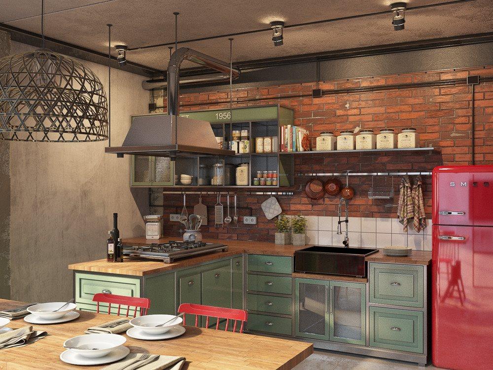 industrial style loft in budapest. Black Bedroom Furniture Sets. Home Design Ideas