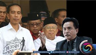 Yusril Ihza Mahendra mengaku sudah diminta oleh Tim Kampanye Nasional atau TKN Jokowi - Ma'ruf memberikan masukan terkait dengan materi debat capres dan cawapres. Materi debat yang diminta adalah terkait dengan masalah hukum dan HAM. Posisi Yusril saat ini sebagai kuasa hukum pasangan calon presiden dan wakil presiden, Joko Widodo - KH Ma'ruf Amin.