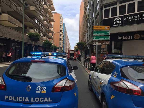 El hombre detenido por la Policía Local de Las Palmas de Gran Canaria tras peligrosa persecución triplicaba la  tasa de alcohol permitida