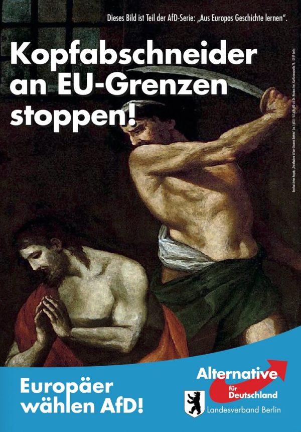 Kova prieš Europos islamizaciją EP rinkimų išvakarėse (trumpa apžvalga)