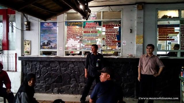 pilihan bis jurusan Bandung Pekalongan pilihan agen bus di Terminal Cicaheum