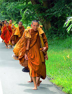 Buddhist Monks near Khao Lak