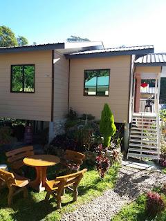 review homestay kundasang; homestay cantik dan selesa di kundasang; The village masilou kundasang;