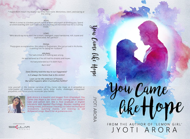 You Came Like Hope Cover Reveal