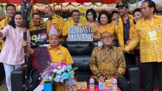 Airlangga Tegaskan DPD Harus Menangkan Golkar dan Jokowi