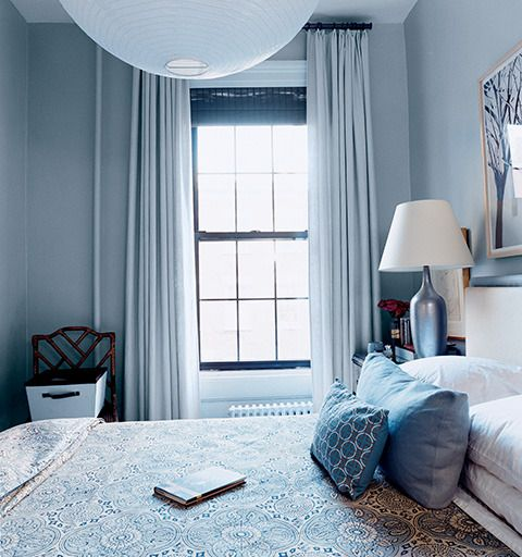 Beautiful bed room by Pop Sugar via Domino Mag - {cool chic style fashion}