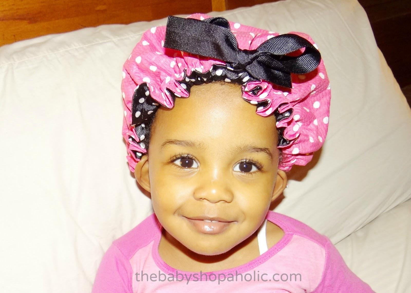 Silky Wraps Kids Hair Bonnet Review Giveaway Baby