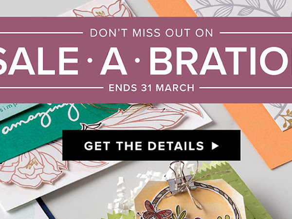 Stampin'Up Sale-A-Bration 2018