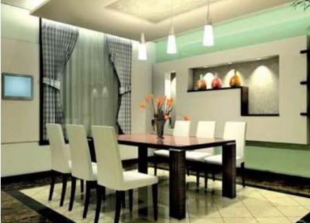desain ruang makan sederhana sebuah rumah minimalis
