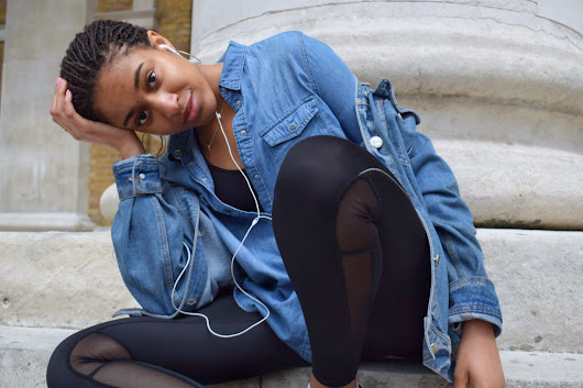 Une fille morderne : A DIFFERENT KIND OF DOUBLE DENIM