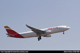 Avión Airbus A330 EC-MKJ