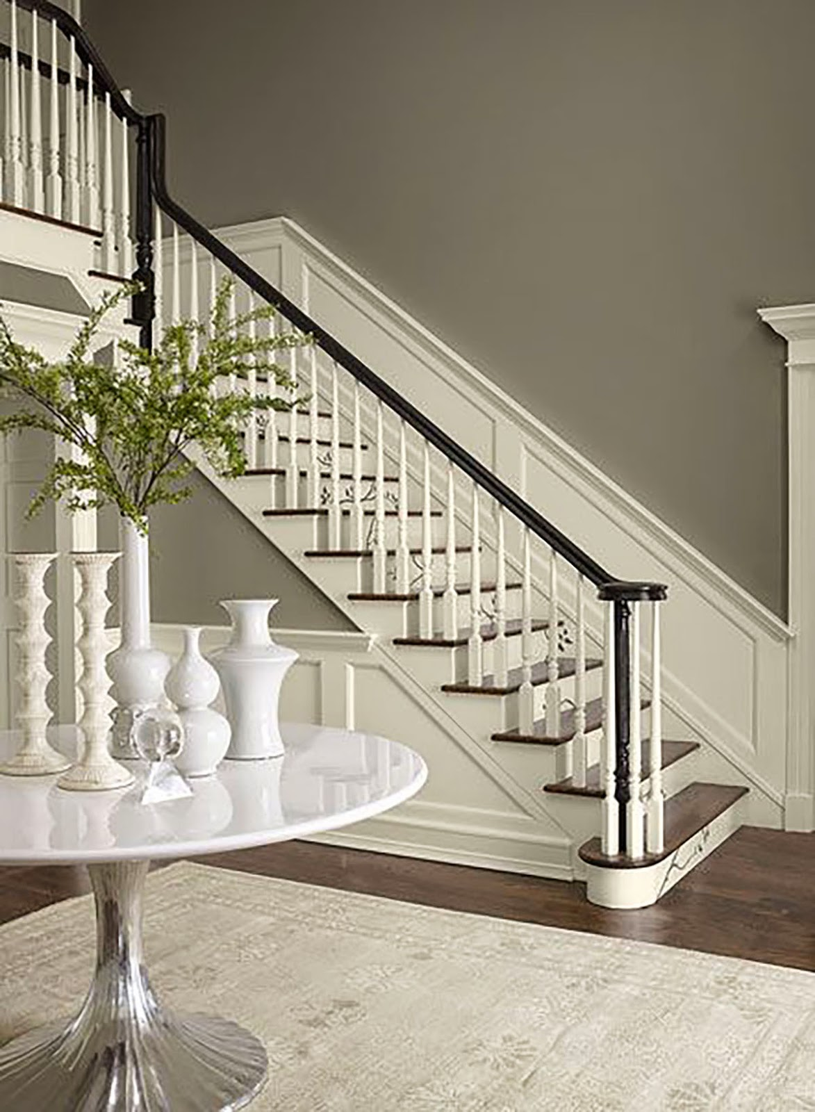 Simply life design easy diy staircase update for Easy stairs diy