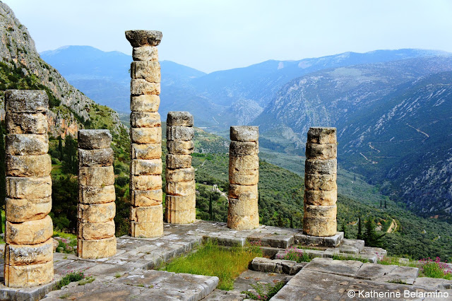 Temple of Apollo Delphi Central Greece Attractions