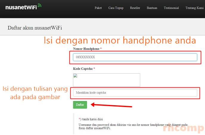 NusanetWiFi Alternatif Voucher Wifi Id