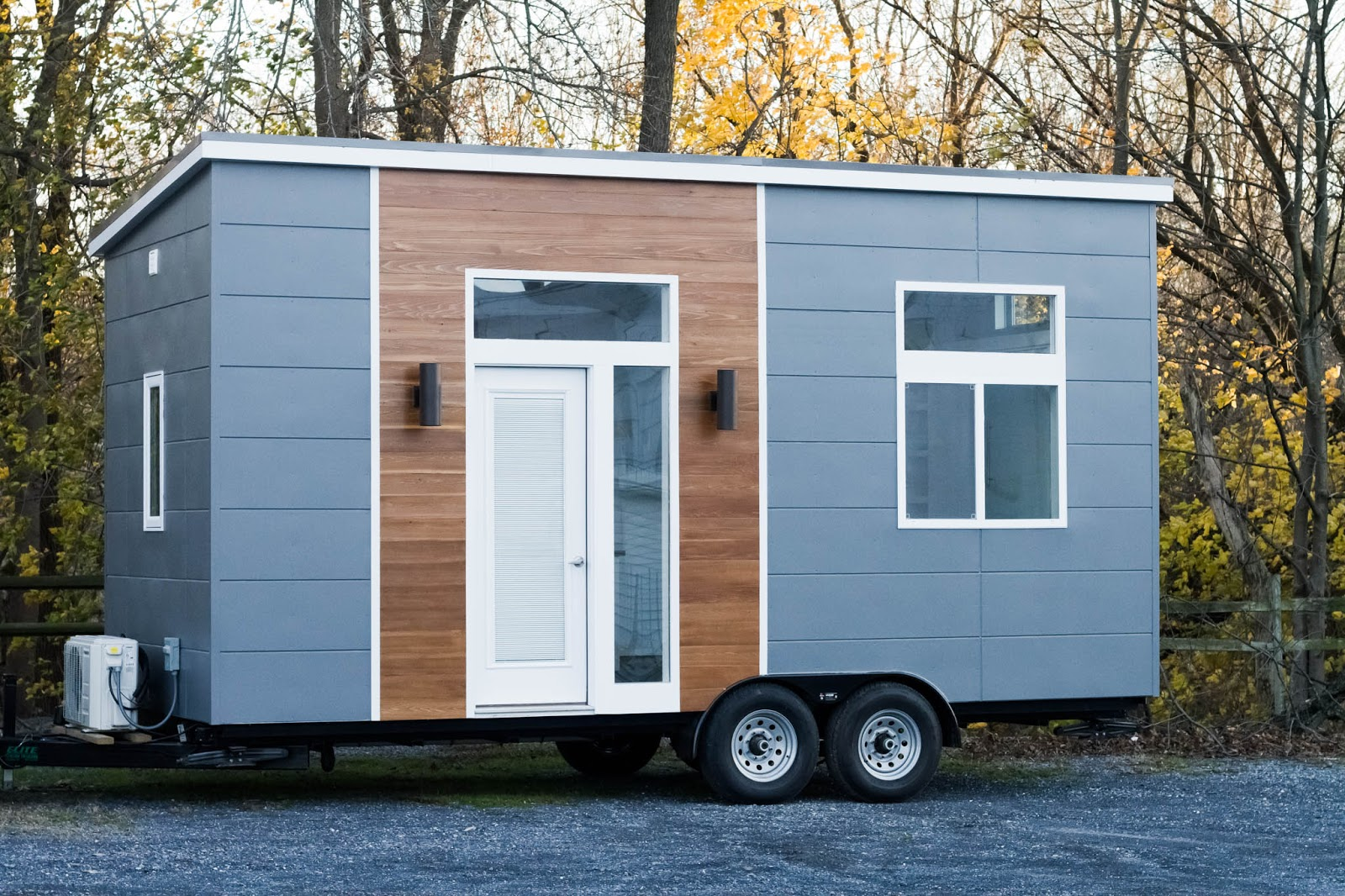 TINY HOUSE TOWN: Mid-Century Modern Tiny Home (170 Sq Ft)