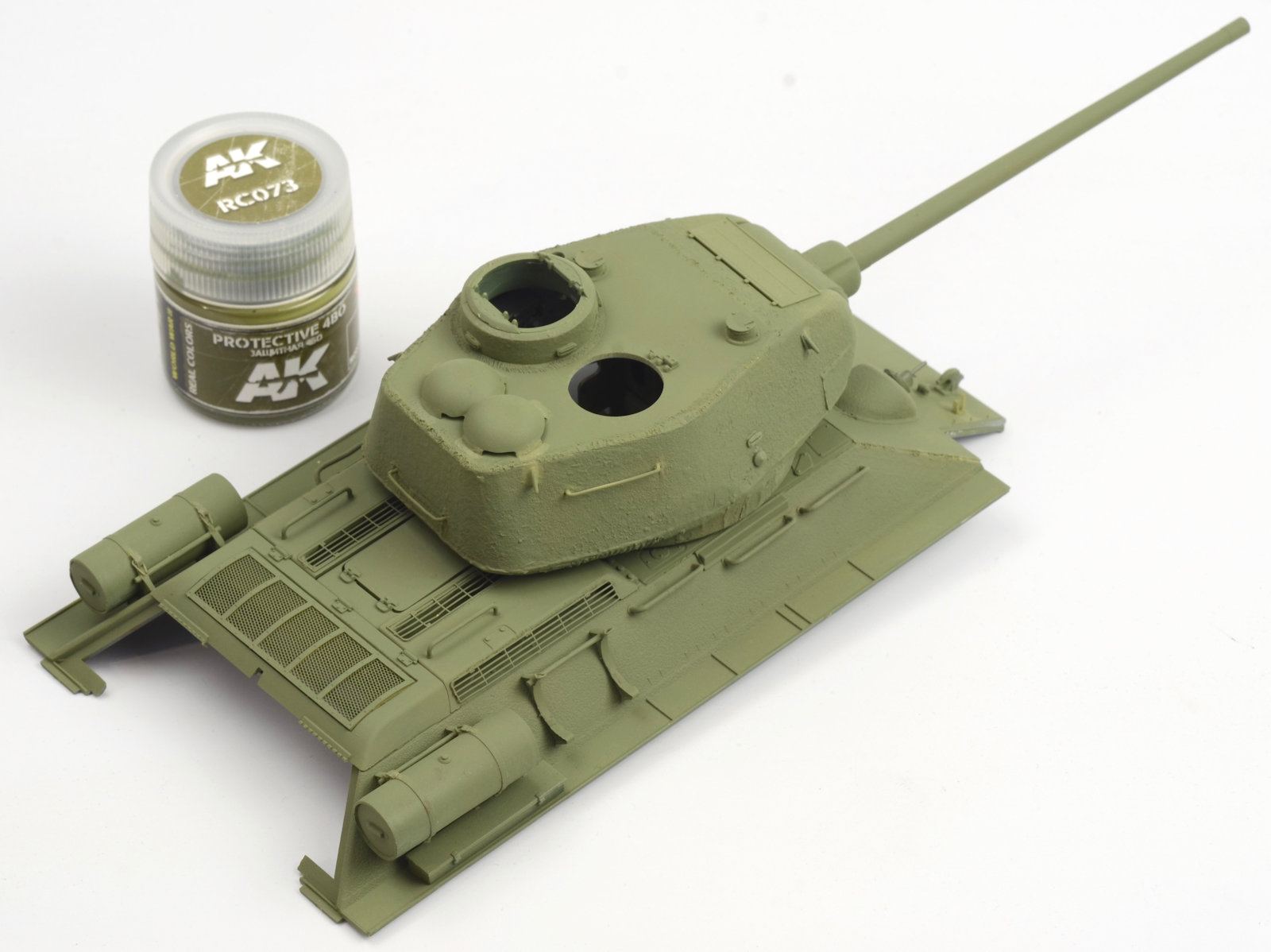 The Modelling News: Construction Guide Pt 1:1/35th scale T