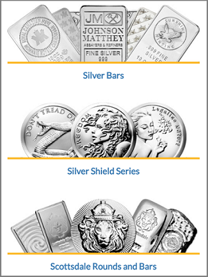 Buy Silver Bullion - Silver Gold Bull