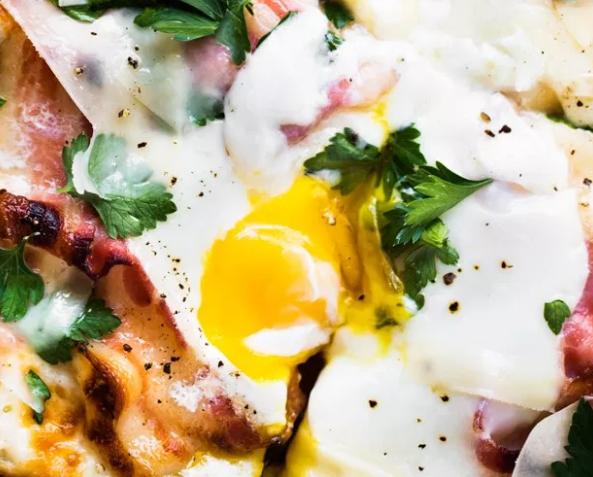 Pizza Carbonara Recipe