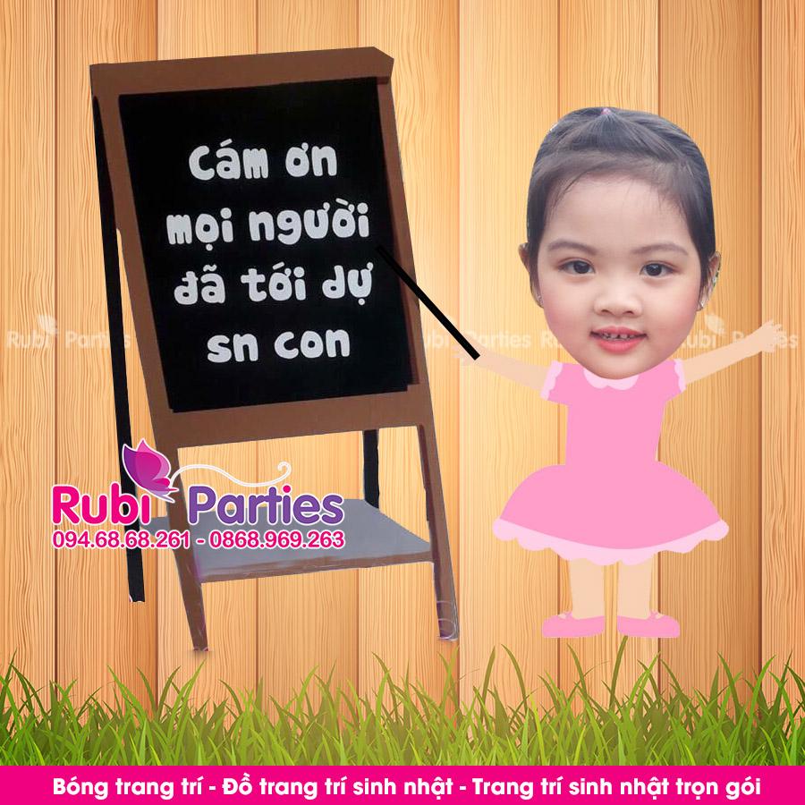 Thiet ke chibi sinh nhat cho be tai Hai Ba Trung