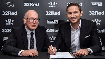 Frank Lampard appointed manager of Derby County on 3-year contract