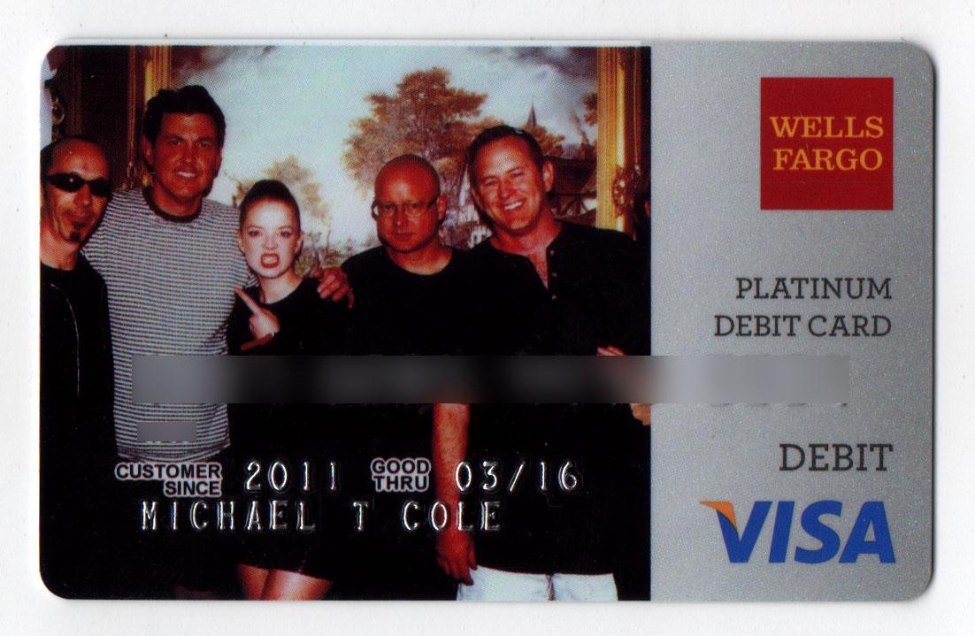 wells fargo custom debit card   Infocard.co