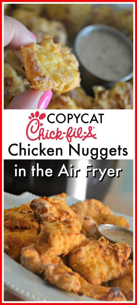 Copycat Chick-fil-A Nuggets #Copycat #Chick #Foodporn #Food #Healthyfood #Healthyrecipe #Chickenrecipe #chicken #Filletchicken #italy #USA #Netherlandfood