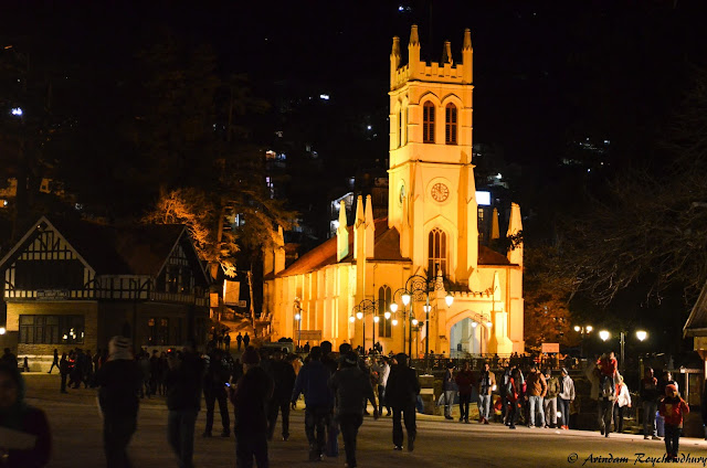 Christ Church Shimla Night Shot