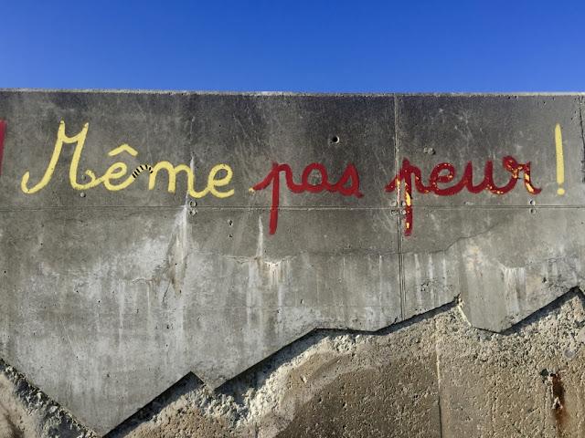 Color moodboard - street art et jaune.