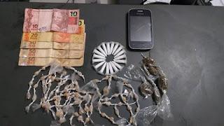 Policia Militar prende homem em flagrante por tráfico em Ilha Comprida