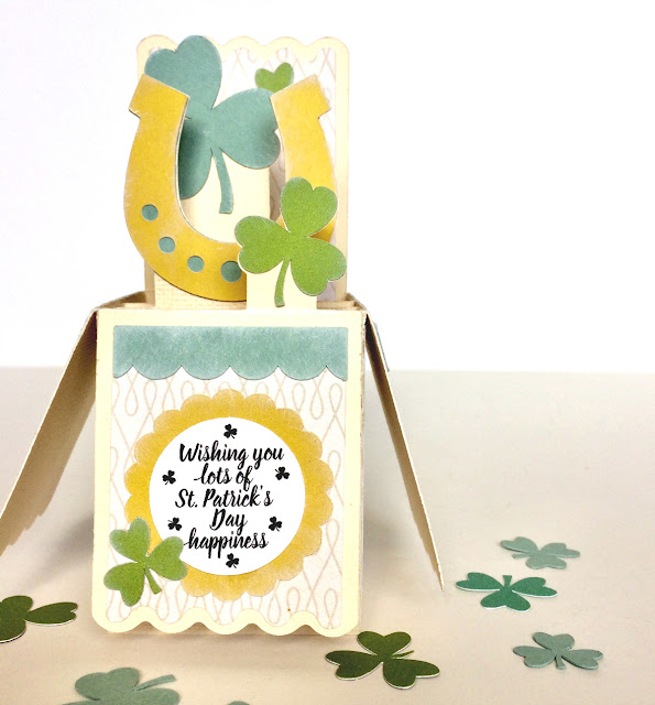 St. Patrick's Day 3D Box Card