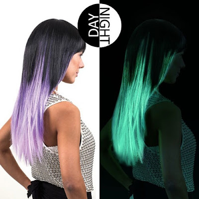 Glow In The Dark : Trend Warna Rambut 2016