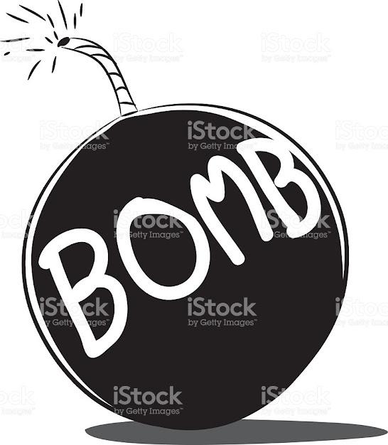 Bomb Vector Cartoon Royaltyfree Stock Vector Art