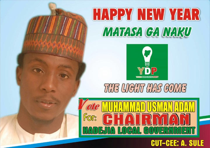 What is wrong with this campaign poster of 26-year-old LGA chairman aspirant?