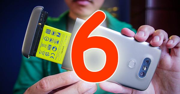 6 أسباب لشراء LG G5 بدلاً من سامسونج غالاكسي اس7