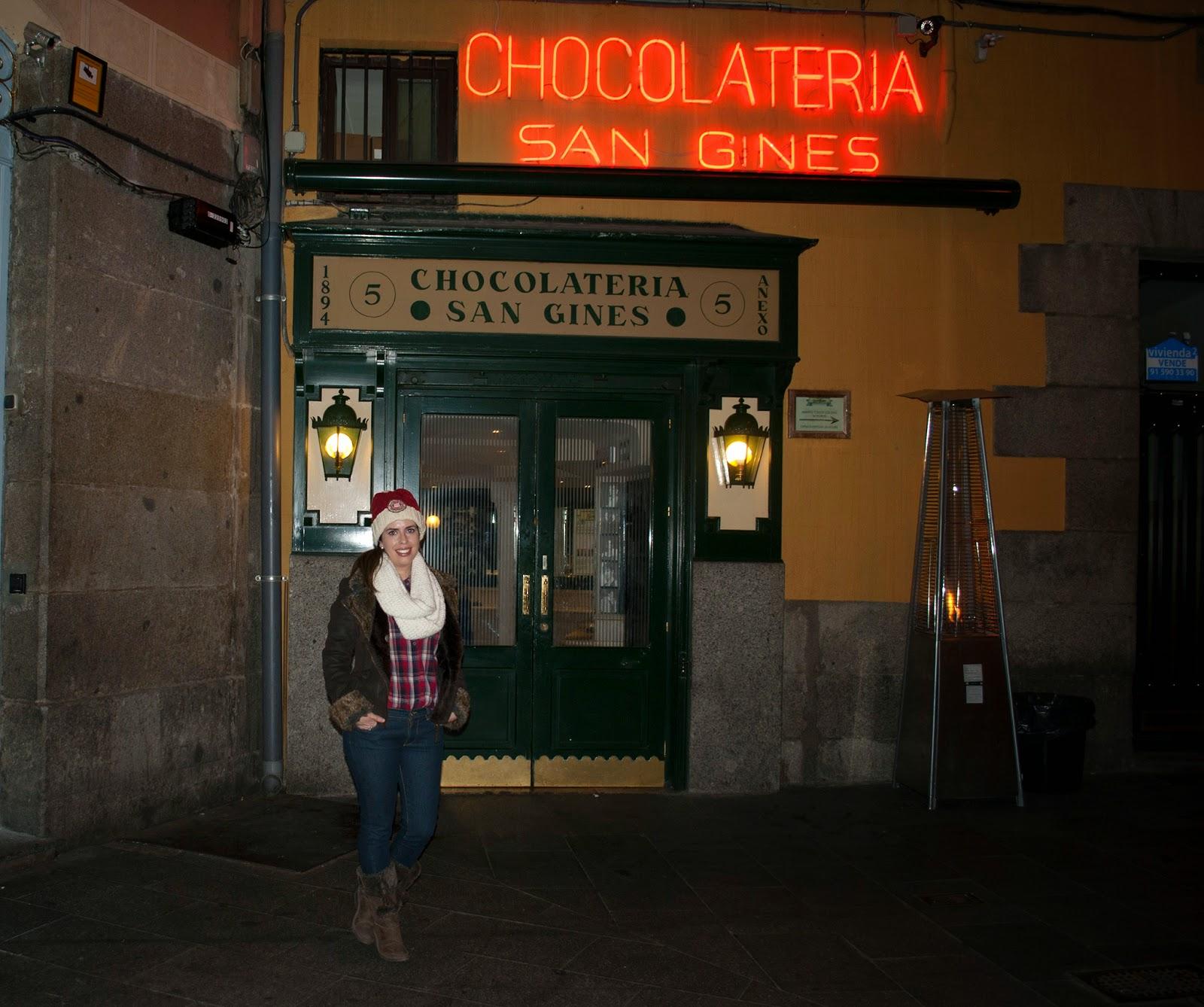 chocolateria san gines madrid chocolate churros