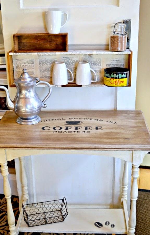 Coffee Station Table | Homeroad