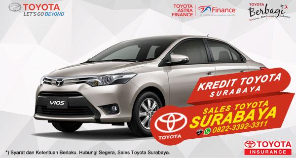 Promo DP Ringan, Paket Kredit Toyota Vios Surabaya