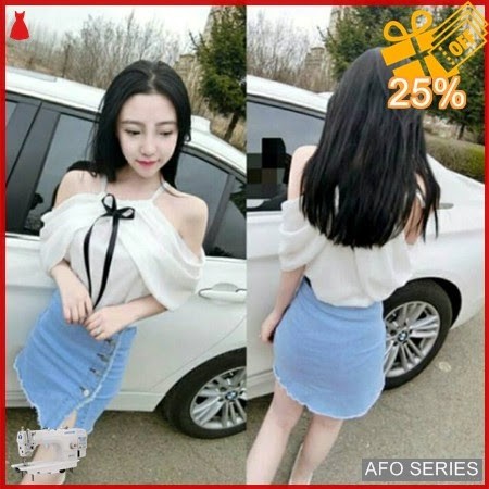 AFO551 Model Fashion Floren Blouse Modis Murah BMGShop