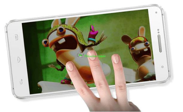 Cara Screenshot HP Xiaomi dengan Usapan Jari