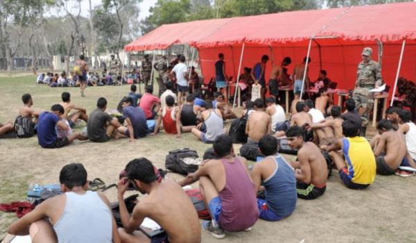 Bhilwara  Army Rally, Indian Army Rally, Open Bharti Rally