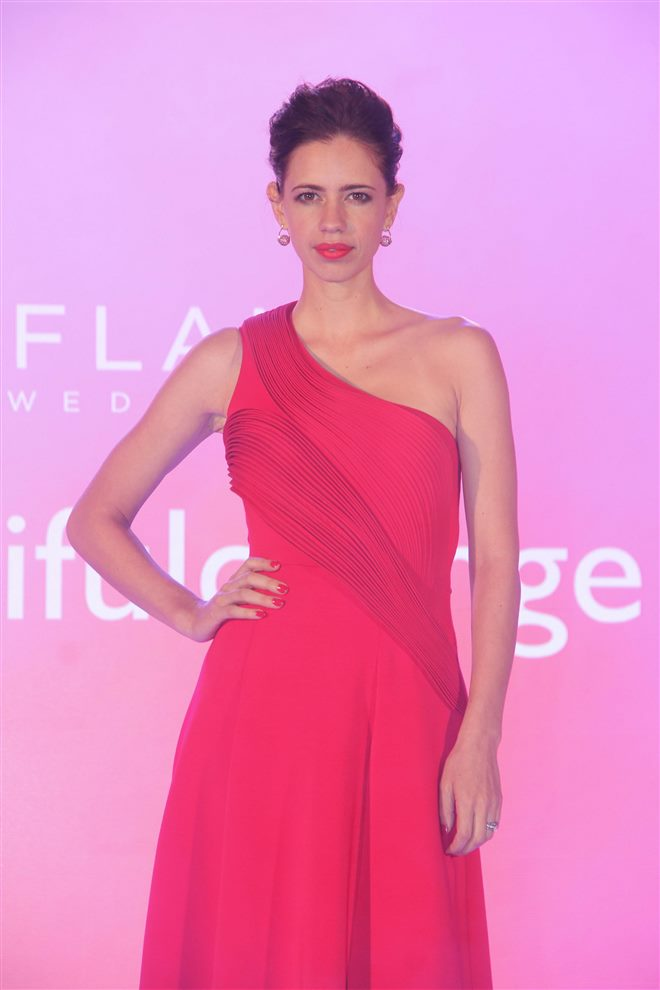 Kalki Koechlin at Launch of Oriflame New Brand Campaign at ITC Grand Central