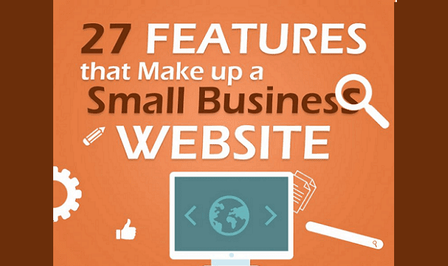 27 Features that Make up a Small Business Website