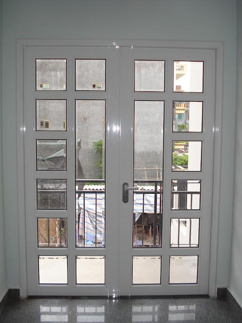 cửa nhôm kính đẹp - mẫu thiết kế số 11