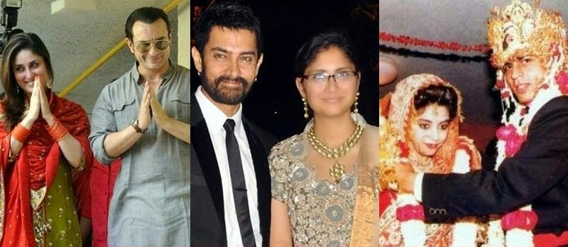 Bollywood Muslim Actors Hindu Wives