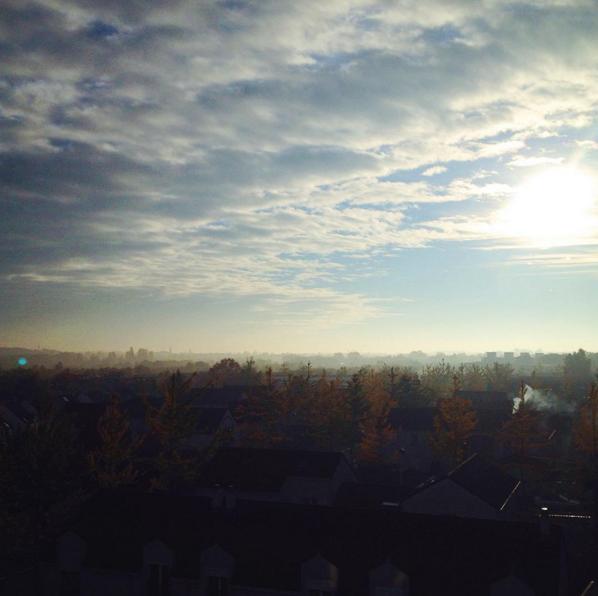 ciel matin nuage