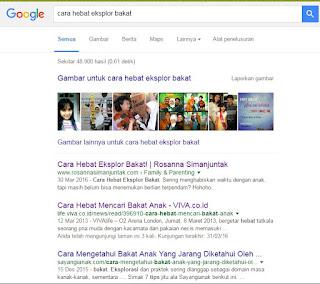 Tips Ampuh Menjadi Juara Satu di Google