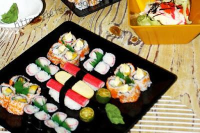 Maki+%252B+Sushi - Maki and Inihaw Night With Good Friends
