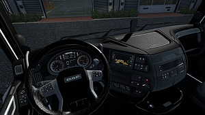 Black interior for DAF Euro 6