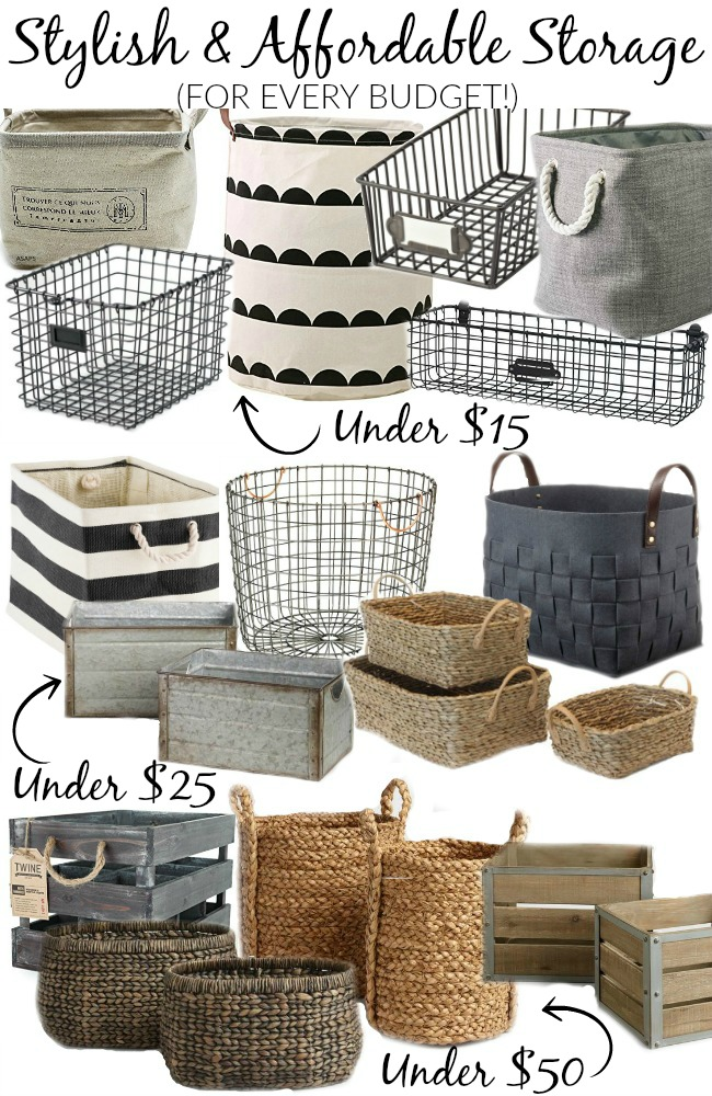 Storage crates, baskets and bins, organizing, organize your home