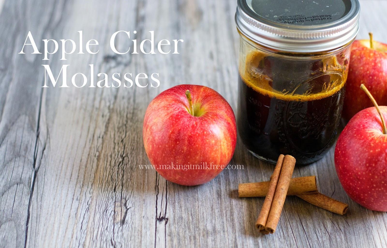#apple #cider #molasses #fall